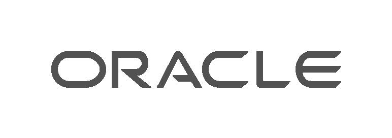 Oracle em preto e branco